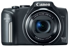 Фотоаппарат Canon PowerShot SX170 IS черный